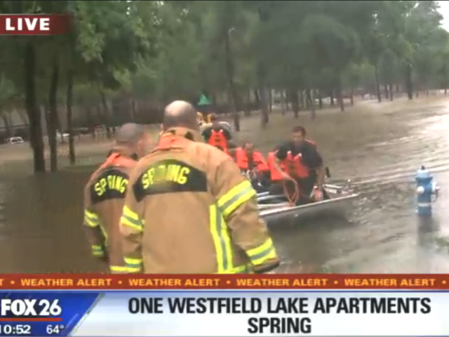 Water Rescue in Houston