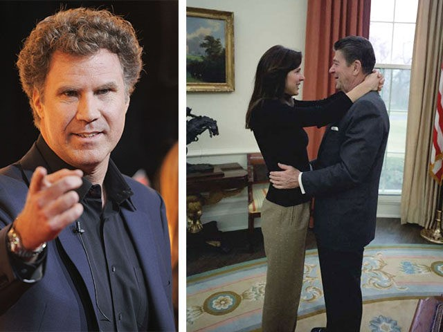 Will Ferrell and Reagans
