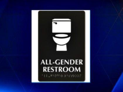 all gender restroom sign WYFF News