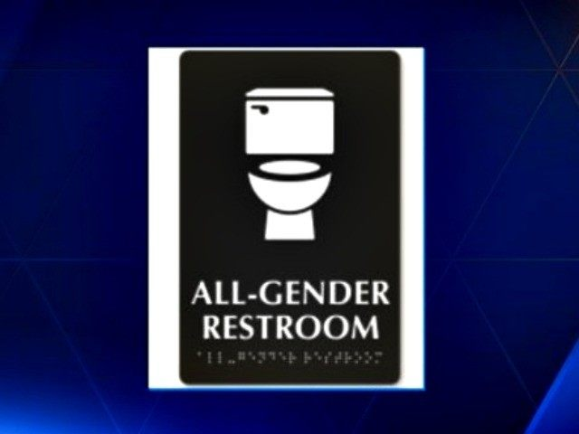 all gender restroom sign WYFF News