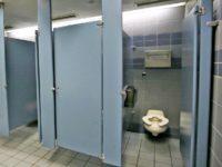 bathroom stall