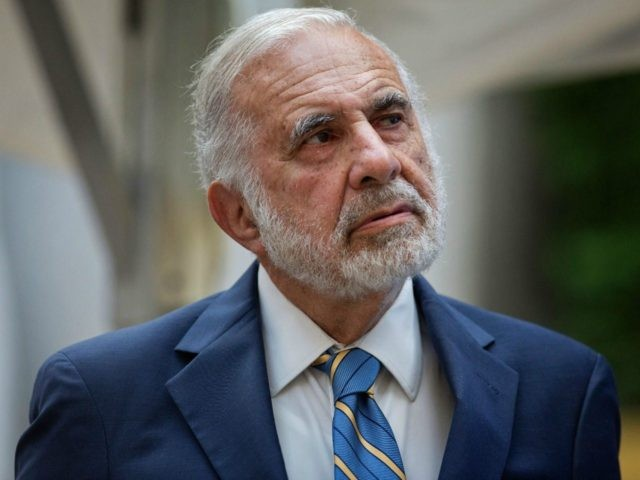 Billionaire activist investor Carl Icahn attends the Leveraged Finance Fights Melanoma charity event in New York, U.S., on Tuesday, May 19, 2015. Lyft Inc. is worth more than its recent $2 billion valuation, based on the $50 billion value of larger car-hailing rival Uber Technologies Inc., Icahn said, after he …