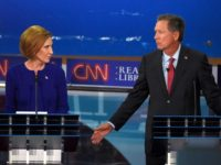 Alliance Over: Carly Calls for Kasich to 'Get Out of Race'