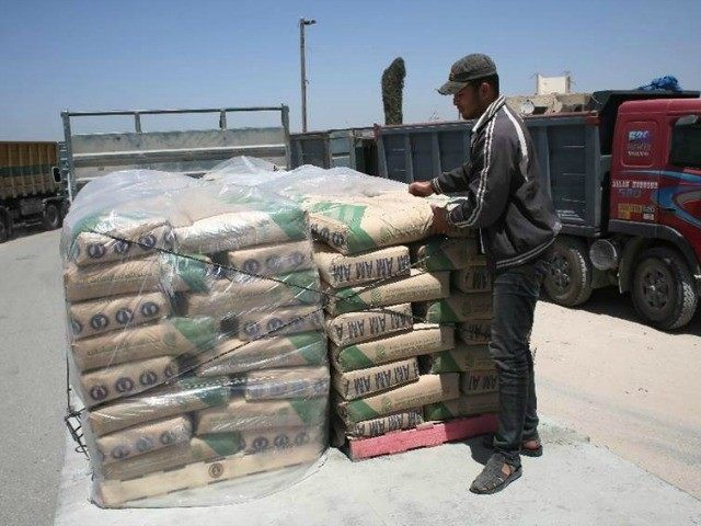 Israel on Monday announced it had stopped private imports of cement to the Hamas-run Palestinian enclave, accusing Imad al-Baz, deputy director of the economy ministry, of diverting supplies