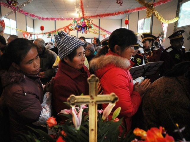 christian communist china
