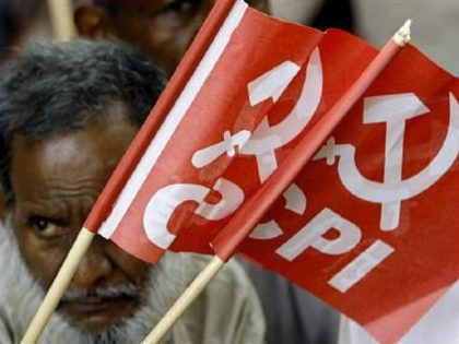 An activist of Communist Party of India (CPI) is seen in New Delhi in this September 5, 2007 file photo. India's love affair with short forms is related to its multilingual character. REUTERS/ADNAN ABIDI