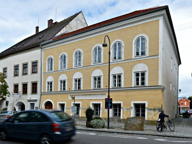 Exterior view of Adolf Hitler's birthhouse in Braunau am Inn, on Thursday, Sept. 27, 2012 in Austria. Adolf Hitler was born in this house in Braunau am Inn, Austria, on 20 April 1889. (AP Photo / Kerstin Joensson)