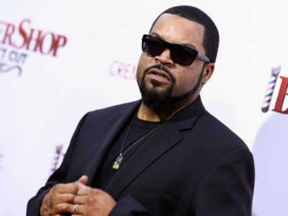 "Ice Cube attends the LA Premiere of ""Barbershop: The Next Cut"" held at the TCL Chinese Theatre on Wednesday, April 6, 2016, in Los Angeles. (Photo by John Salangsang/Invision/AP)"