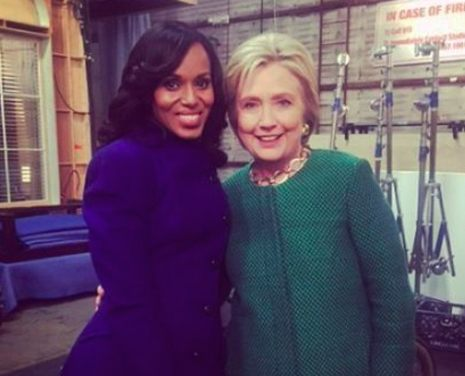 kerry washington hillary clinton