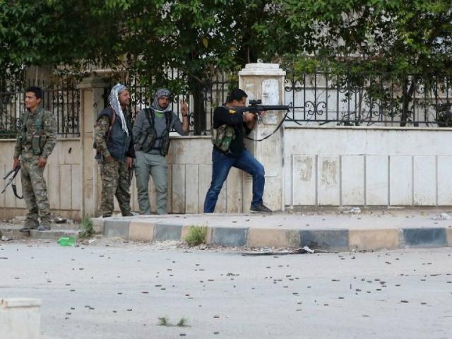 Christian Assyrian Militias Fighting Kurds in Syria