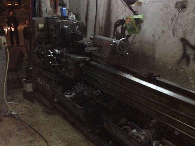 One of the lathes found in Abu Dis