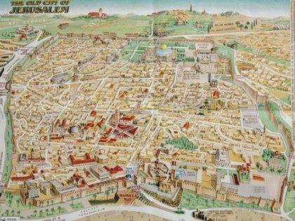 old jerusalem map