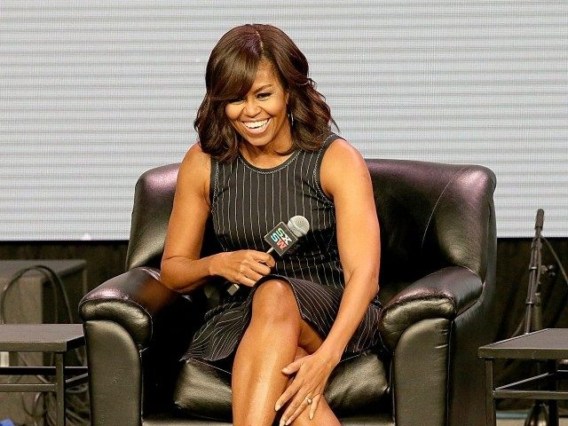 AUSTIN, TX - MARCH 16: First Lady of the United States Michelle Obama attends the keynote address at the Austin Convention Center during the South by Southwest Music Festival on March 16, 2016 in Austin, Texas. (Photo by Gary Miller/Getty Images)