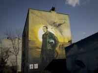 iranian pilot mural