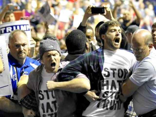 anti-Trump protest Gerry Broome AP