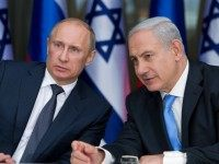 JERUSALEM, ISRAEL - JUNE 25: Russian President Vladimir Putin and Israeli Prime Minister Benjamin Netanyahu attend a press conference at the Israeli leader's Jerusalem residence on June 25, 2012 in Jerusalem, Israel. President Putin is on his first Middle East tour for seven years beginning with a trip to Jerusalem …