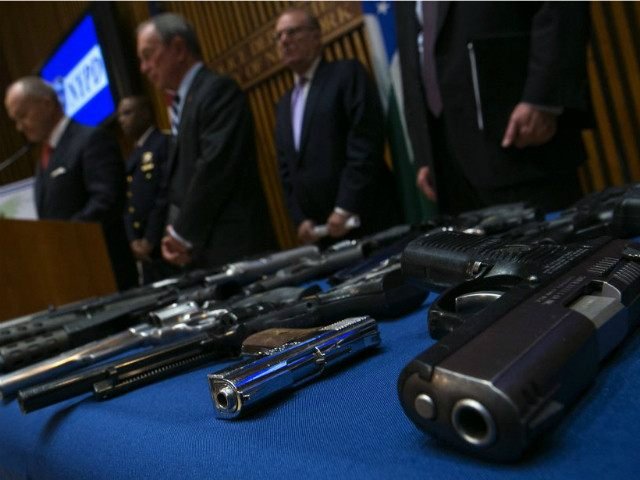 More than 250 illegal firearms were seized last week in New York. PHOTO ERIC THAYER, REUTERS