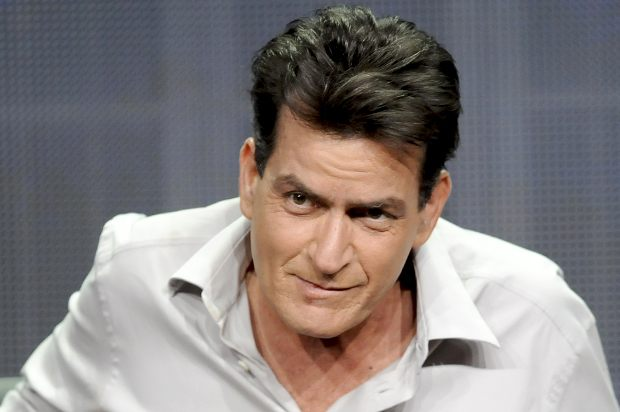 """Actor Charlie Sheen from the FX show """"Anger Management"""" takes part in a panel discussion at the FX Networks session of the 2012 Television Critics Association Summer Press Tour in Beverly Hills, California, July 28, 2012. REUTERS/Gus Ruelas (UNITED STATES - Tags: ENTERTAINMENT) - RTR35I37"""