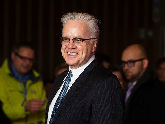 66th International Film Festival in Berlin, Germany, 13 February 2016. Actor Tim Robbins receives the Berlinale Kamera award. The Berlinale runs from 11 February to 21 February 2016. Photo by: Gregor Fischer/picture-alliance/dpa/AP Images