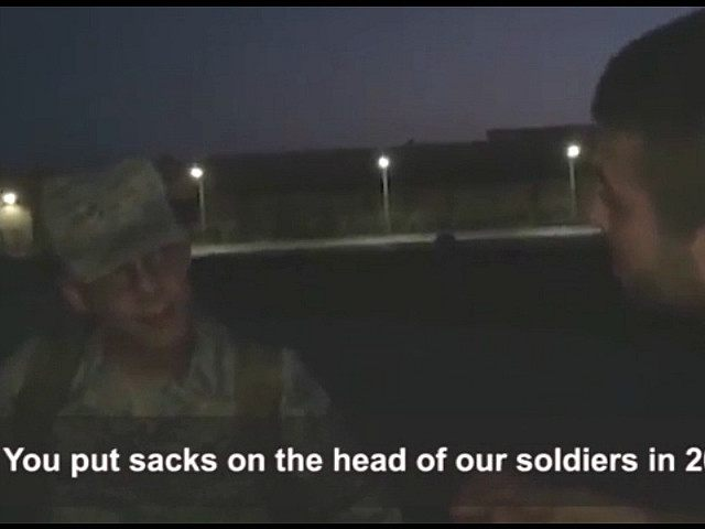 Anti-American Turkish Nationalists Arrested Trying to Put Sack over U.S. Soldier's Head