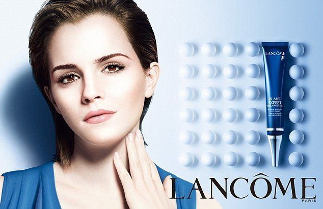 Emma Watson Lancome advert