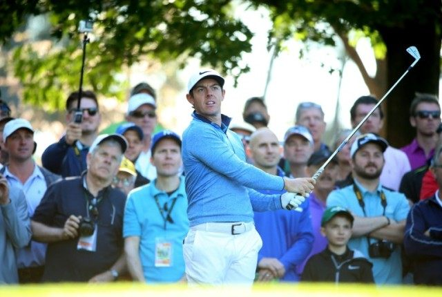 Rory McIlroy of Northern Ireland can complete a career Grand Slam at age 26 if he captures the green jacket symbolic of Masters supremacy