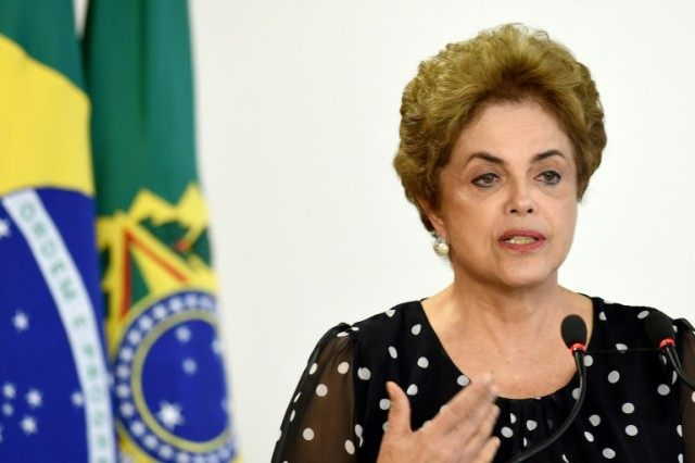 Brazilian President Dilma Rousseff 's grip on power is slipping in a political and economic crisis rocking Latin America's biggest country