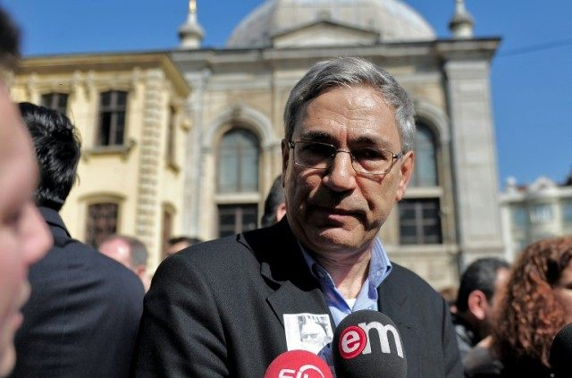 Turkish Nobel laureate and author Orhan Pamuk, whose book, 'A Strangeness in My Mind', is shortlisted for the 2016 Man International Prize