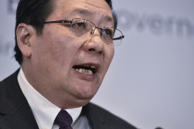 "Chinese Finance Minister Lou Jiwei called Donald Trump an ""irrational type"" in an interview published April 17, 2016"