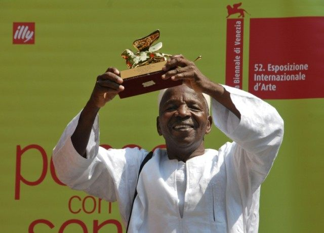 Malian photographer Malick Sidibe was awarded a Golden Lion Award for Lifetime Achievement at the Venice film festival in 2007