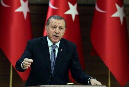 "Turkish President Recep Tayyip Erdogan denounces last week's European Parliament report as ""provocative"""