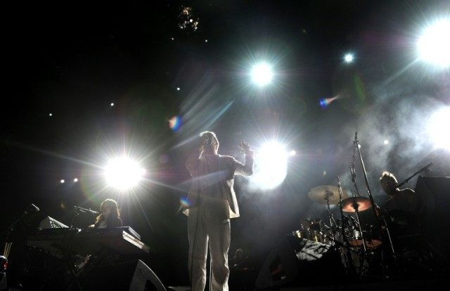 LCD Soundsystem, pictured performing at Coachella in 2010, broke up in 2011 with what seemed like clear finality, but announced a reunion for this year's festival in the California desert