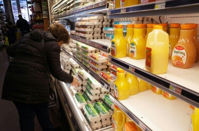 The Labor Department's consumer price index rose 0.1 percent in March, led by a decline in food, while energy prices rose 0.9 percent