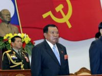 In secretive communist Laos, Bounhang Vorachith (C), pictured here in 2006, has taken office as the country's new president and party secretary general