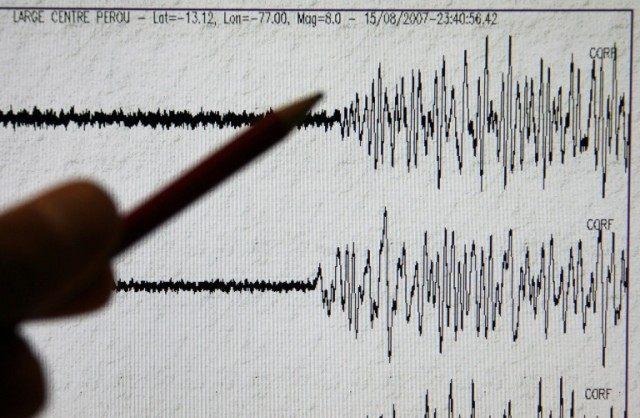The 6.9 magnitude quake struck northern Myanmar at a depth of 134 kilometres (214 miles)