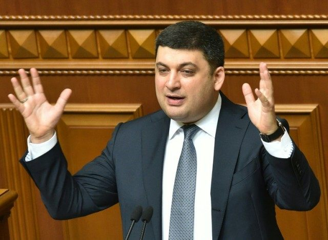 Volodymyr Groysman is Ukraine's youngest-ever premier