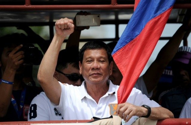 Philippine presidential candidate attacked over rape joke