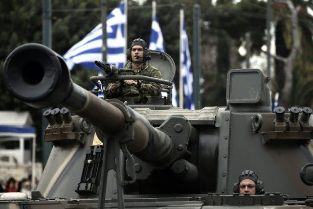 The Greek military confirms it will conduct war games in Kilkis and Oinousses