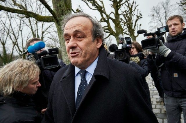 Michel Platini is the suspended head of European football confederation UEFA