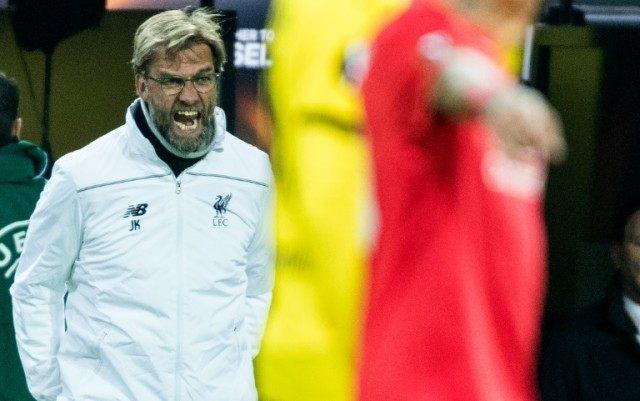 Liverpool manager Jurgen Klopp oversaw a dramatic comeback against Borussia Dortmund in the Europa League quarter-final