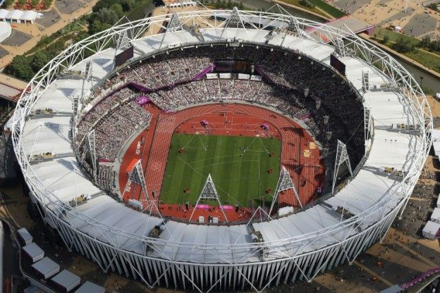 London's Olympic Stadium will also host the 2017 world athletics championships