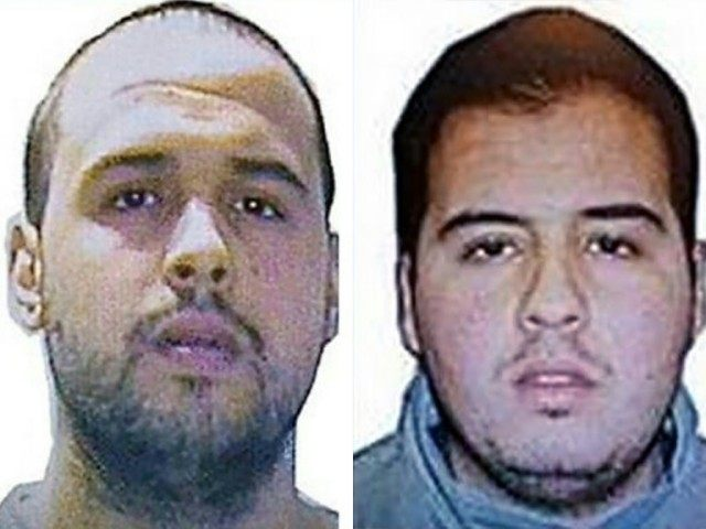 Khalid (L) and Ibrahim (R) El Bakraoui, the two Belgian brothers identified as the suicide bombers who struck Brussels on March 22, 2016