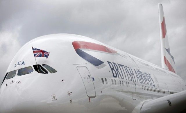 A BA Airbus A320 with 132 passengers and five crew on board, was on its final descent into Heathrow's Terminal Five when it was struck