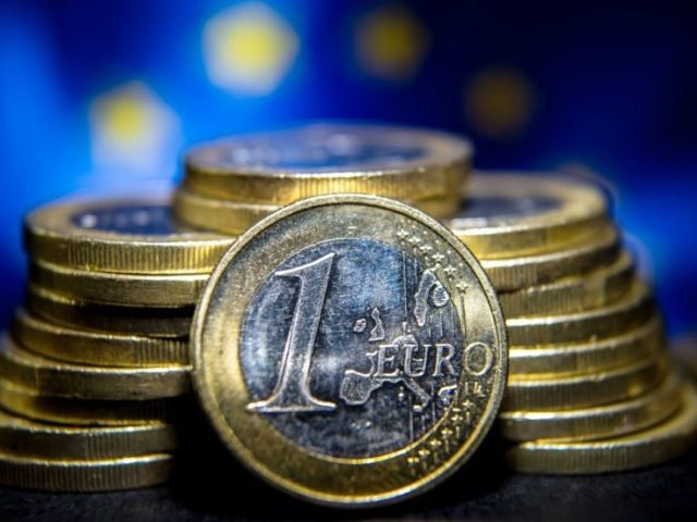 Eurozone inflation in April was negative 0.2 percent, compared with a revised zero percent in March