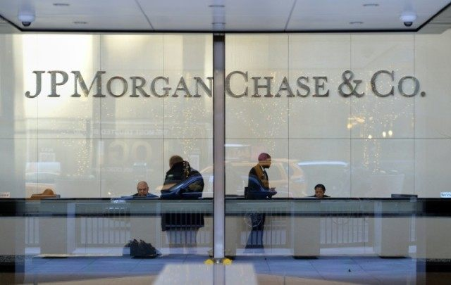 JPMorgan reported a steep 6.7 percent profit drop year-over-year in the first quarter but adjusted earnings per share were $1.35, well above the $1.26 analyst estimate