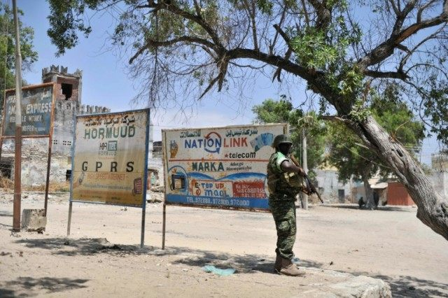 The Somali government is defended by the African Union's 22,000-strong AMISOM mission against the Al-Qaeda-linked Shebab group, which has vowed to overthrow the country's fragile Western-backed authorities