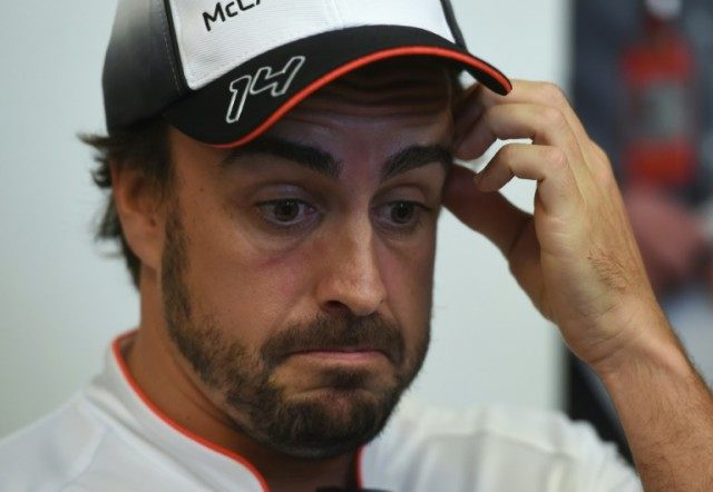 "McLaren's Fernando Alonso admitted he was ""lucky to be alive"" after his high-speed accident at the Australian Grand Prix"