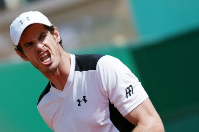 Britain's Andy Murray beat Milos Raonic of Canada 6-2, 6-0 in the quarter-finals of the Monte Carlo Masters on April 15, 2016