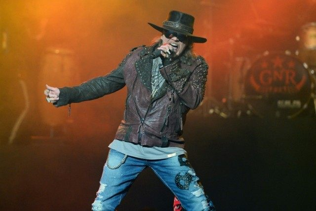Axl Rose joins Australian rock band AC/DC as their new singer