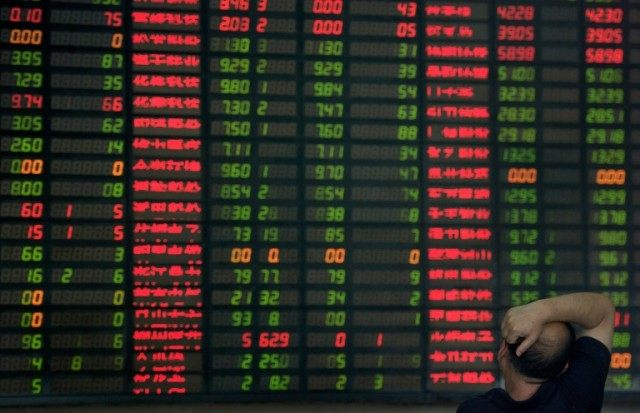 Upbeat economic data has sparked a rebound in share prices in China